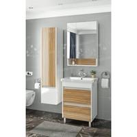 Комплект мебели Francesca Doremi 60 напольная (белый/ясень, ум. Como 60)