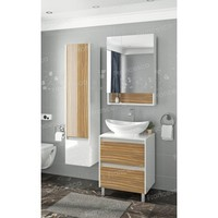 Комплект мебели Francesca Doremi 60, белый/ясень (2 ящика, ум. Гамма 56)