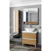 Комплект мебели Francesca Doremi 80 (черный/ясень, 2 ящика, ум. Гамма 56)