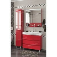 Комплект мебели Francesca Forte 85 напольная красный (3 ящика, ум. Элвис 85)
