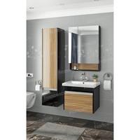 Комплект мебели подвесной Francesca Doremi 60, черный/ясень