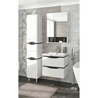 Комплект мебели подвесная Francesca Latina 60 белый-венге