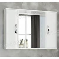 Шкаф-зеркало Francesca Eco Max 105 белый