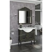Комплект мебели Francesca Леонардо 85 черный, патина золото