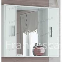 Шкаф-зеркало Francesca Eco 90 белый