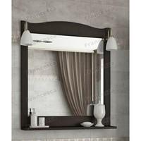Зеркало Francesca Империя П 70 венге (полотно+светильники Изабель)