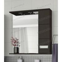 Зеркало-шкаф Francesca Кубо 70 2С венге