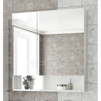 Шкаф-зеркало Francesca Latina 80 белый