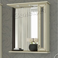 Зеркало-шкаф Венеция Мишель 65